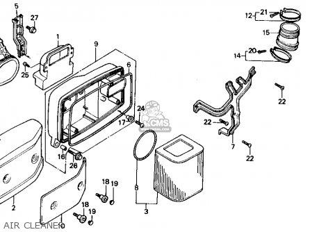 Honda VT700C SHADOW 1986 (G) USA CALIFORNIA parts lists