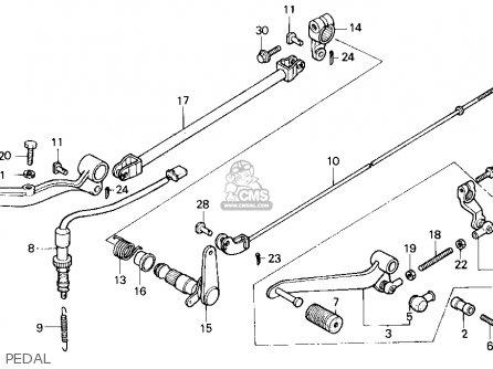 Honda Vt700c Shadow 1986 (g) Usa California parts list