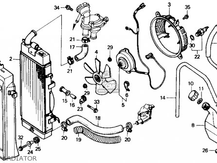 1984 Honda Shadow 700 Wiring Diagram Motorcycle Turn