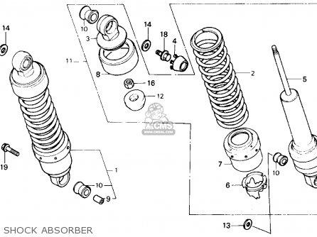 Honda Vt700c Shadow 1986 Usa parts list partsmanual partsfiche
