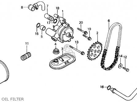Honda Vt700c Shadow 1987 (h) Usa California parts list
