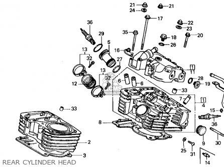 Honda VT700C SHADOW 1987 (H) USA CALIFORNIA parts lists