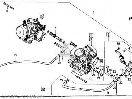 Honda Vt700c Shadow 1987 (h) Usa parts list partsmanual