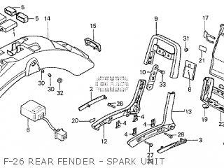 Honda VT750C SHADOW 1983 (D) parts lists and schematics