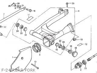 Honda VT750C SHADOW 1984 (E) parts lists and schematics