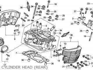 Honda VT750C SHADOW 1997 (V) AUSTRALIA / KPH parts lists