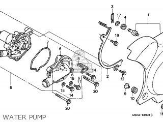 Honda VT750C SHADOW 1997 (V) ENGLAND / MKH parts lists and