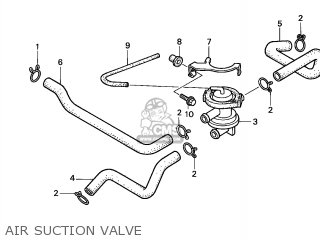 Honda Vt750c Shadow 1998 (w) Australia / Kph parts list