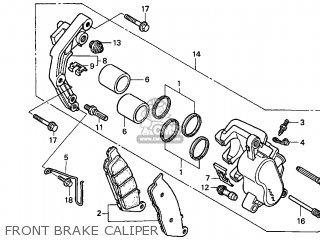 Honda Vt750c Shadow 1999 (x) Usa California parts list