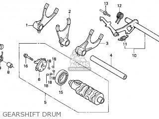 Honda VT750C SHADOW 2005 (5) CALIFORNIA parts lists and