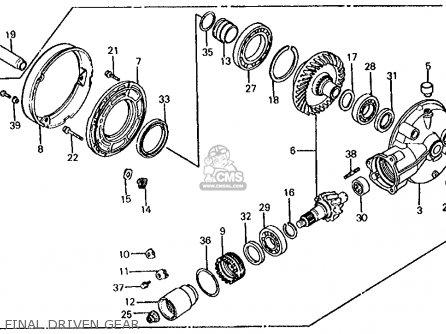 Honda Vt750c Shadow 750 1983 (d) Usa parts list