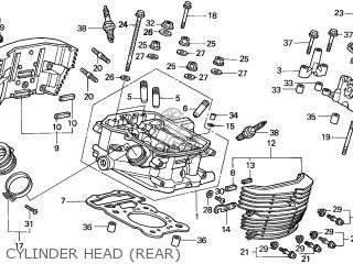Honda VT750C2 SHADOW 2001 (1) ENGLAND / MKH parts lists
