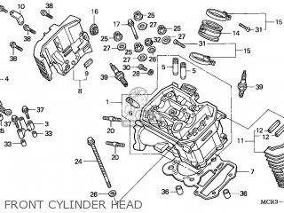 Honda VT750DC SHADOW 2002 (2) NETHERLANDS / MM parts lists