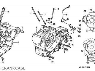 Honda VT750DCA SHADOW SPIRIT 2003 (3) CANADA parts lists