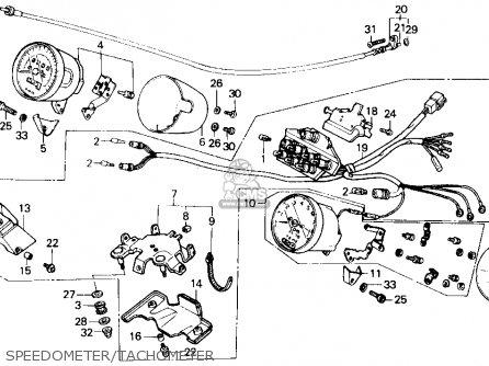 Honda Vt800c Shadow 800 1988 (j) Usa parts list