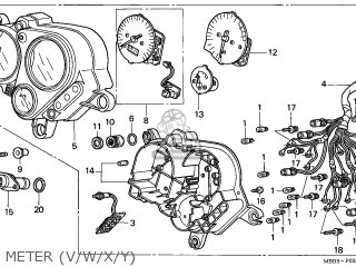 Honda VTR1000F FIRESTORM 1997 (V) AUSTRIA / ASV parts
