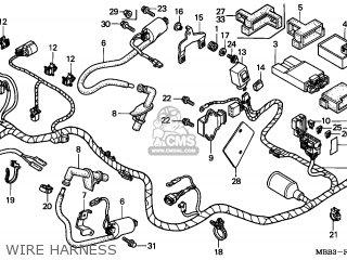Honda VTR1000F FIRESTORM 1997 (V) GERMANY / ASV parts