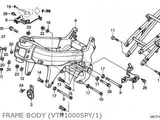 Honda VTR1000SP FIRESTORM 2000 (Y) EUROPEAN DIRECT SALES
