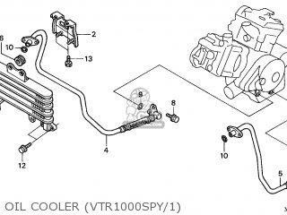 Honda VTR1000SP FIRESTORM 2000 (Y) FRANCE / 100 parts