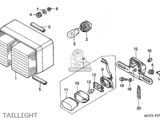 Honda VTR1000SP FIRESTORM 2003 (3) CANADA parts lists and