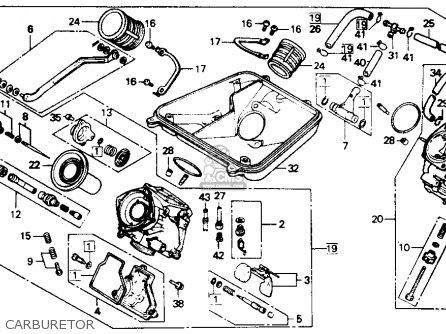 Honda Vtr250 Interceptor Vtr 1989 Usa parts list