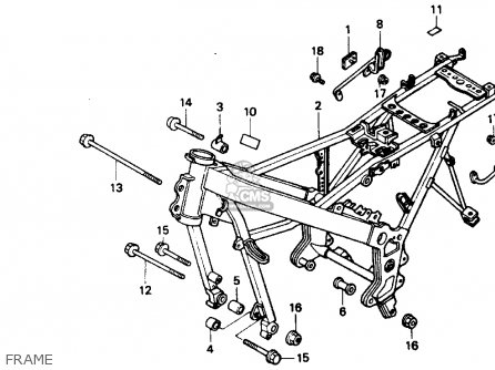Honda VTR250 INTERCEPTOR VTR 1990 (L) USA parts lists and