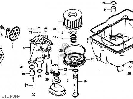 Honda Vtr250 Interceptor Vtr 1990 (l) Usa parts list