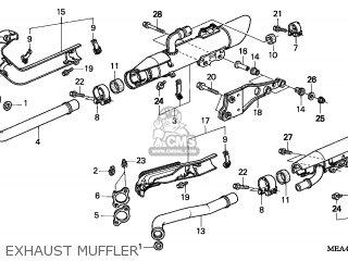 Honda VTX1300S 2004 (4) ENGLAND parts lists and schematics