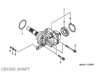 Honda VTX1300S 2006 (6) FRANCE parts lists and schematics