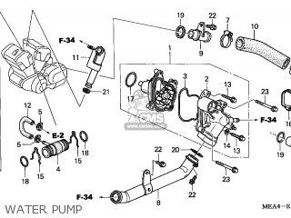 Honda VTX1300S 2006 (6) IRELAND parts lists and schematics