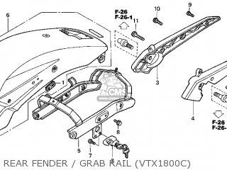 Honda VTX1800C 2003 (3) USA parts lists and schematics