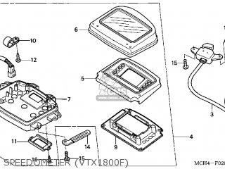 Honda VTX1800F3 2005 (5) USA parts lists and schematics