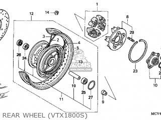 Honda VTX1800S 2002 (2) USA parts lists and schematics