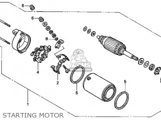 Honda VTX1800S 2002 (2) USA parts lists and schematics