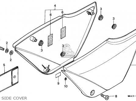 Honda XBR500 1985 (F) GERMANY / 27P parts lists and schematics