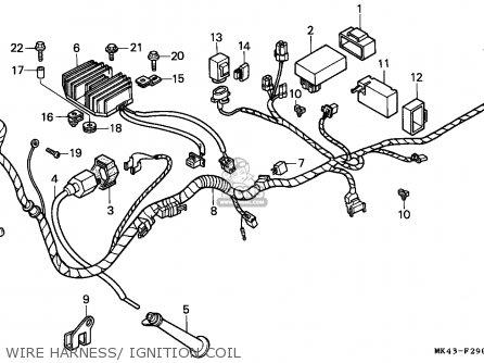 Honda Xbr500 1985 (f) Germany / 27p parts list partsmanual
