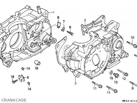 Honda Xbr500 1986 (g) Germany / 27p parts list partsmanual
