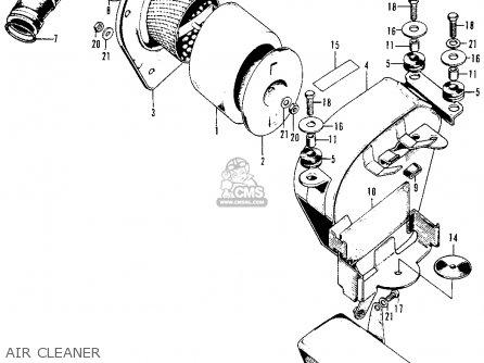 Honda Xl100 1976 Usa parts list partsmanual partsfiche