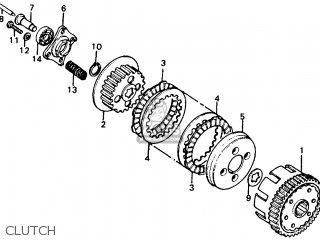 Honda XL100 1978 USA parts lists and schematics