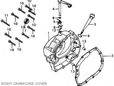 Honda XL100 1978 USA parts lists and schematics