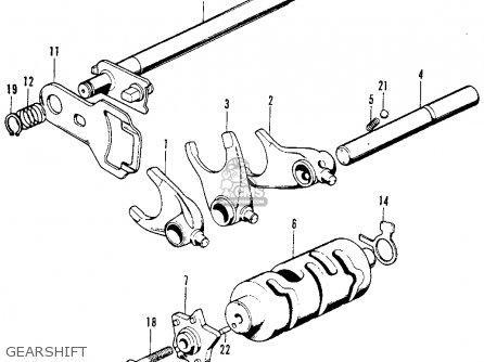 Honda XL100 K1 1975 USA parts lists and schematics