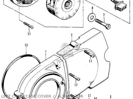 Honda Xl100 K1 1975 Usa parts list partsmanual partsfiche