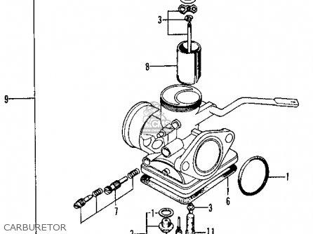 Honda Xl100 K1 Usa parts list partsmanual partsfiche