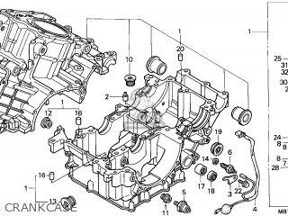 Honda Xl1000v Varadero 1999 (x) England parts list