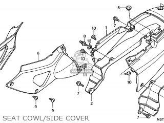 Honda XL1000V VARADERO 1999 (X) ENGLAND parts lists and