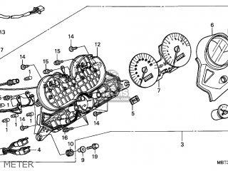 Honda Xl1000v Varadero 1999 (x) France parts list