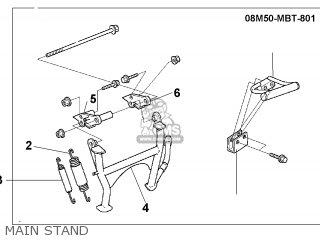Honda XL1000V VARADERO 2001 (1) AUSTRALIA parts lists and