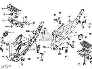 Honda XL1000V VARADERO 2004 (4) ENGLAND parts lists and