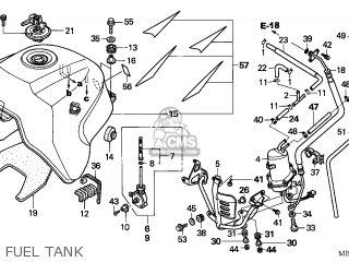 Honda XL1000V VARADERO 2005 (5) ENGLAND parts lists and