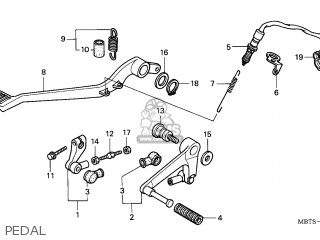 Honda XL1000V VARADERO 2005 (5) FRANCE parts lists and